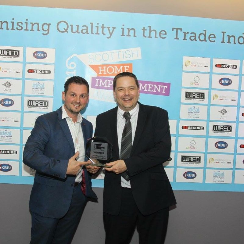 LW HADDOW CROWNED AS BEST PLUMBING AND HEATING CONTRACTOR FOR A SECOND CONSECUTIVE YEAR