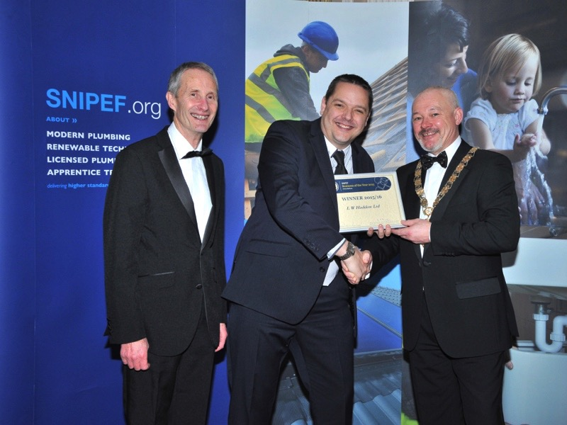 LW HADDOW IS THE WINNER OF THE INAUGURAL SNIPEF BUSINESS OF THE YEAR AWARD