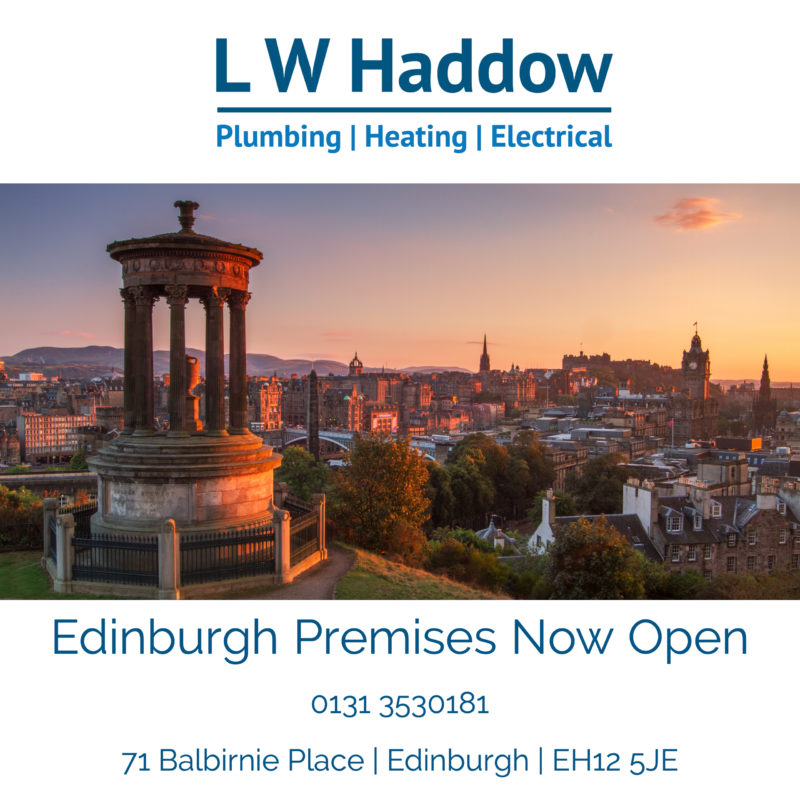 LW Haddow expands into Edinburgh